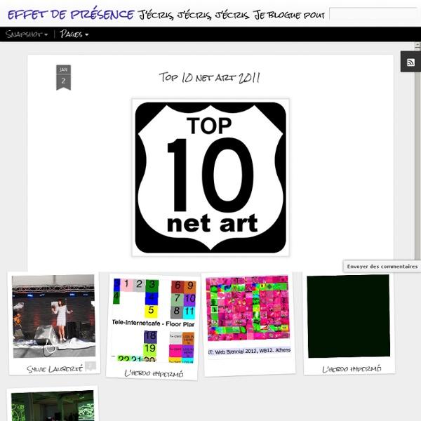 Top 10 net art 2011