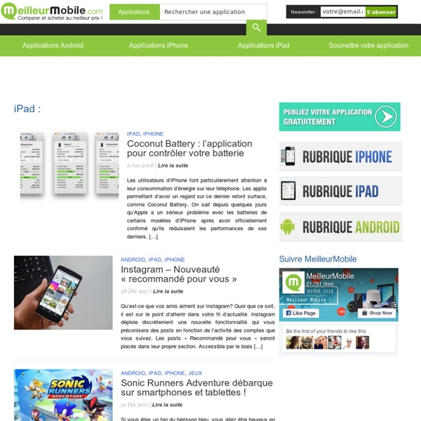 iPad - TopAppli.fr