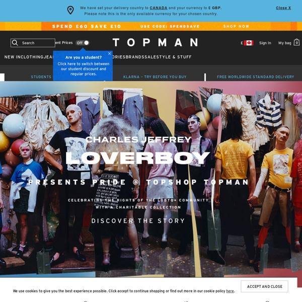 Mens Fashion - Mens Clothing - Topman