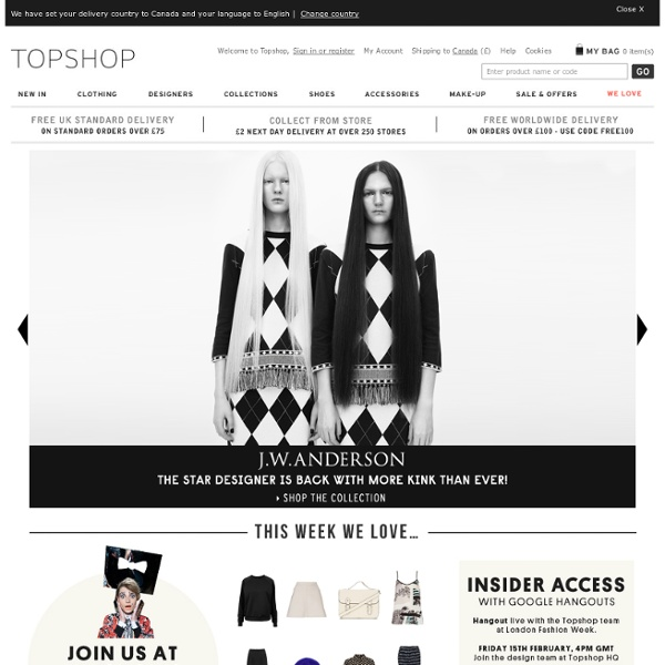 Topshop - Womens Clothing - Womens Fashion