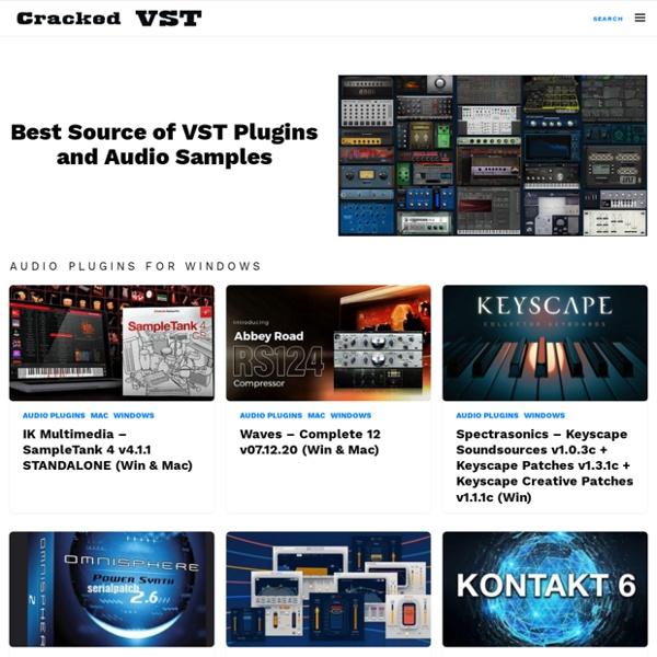 Best VST Torrenting Site - VST Torrent Free Download - VST Crack Plugin