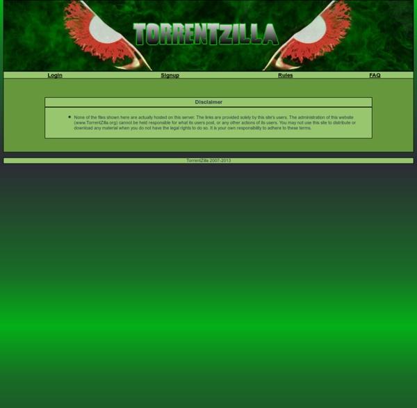 Torrentzilla
