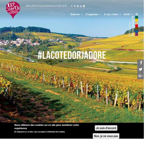Côte-d'Or Tourisme - Accueil - Bourgogne