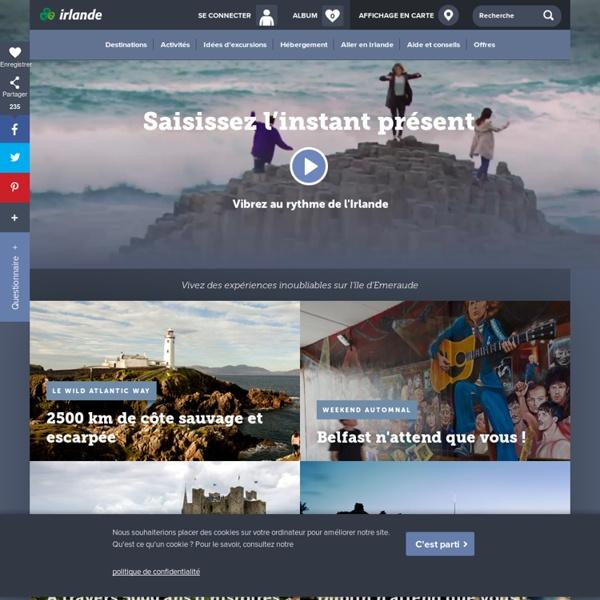 Irlande : Vacances en Irlande : site officiel de l'office du tourisme d'Irlande