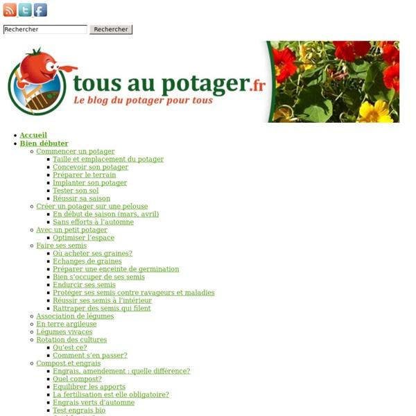 Le blog du potager pour tous