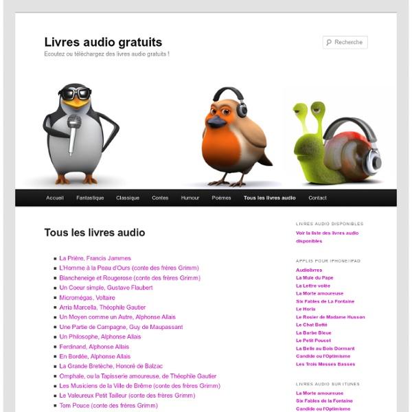 Tous les livres audio