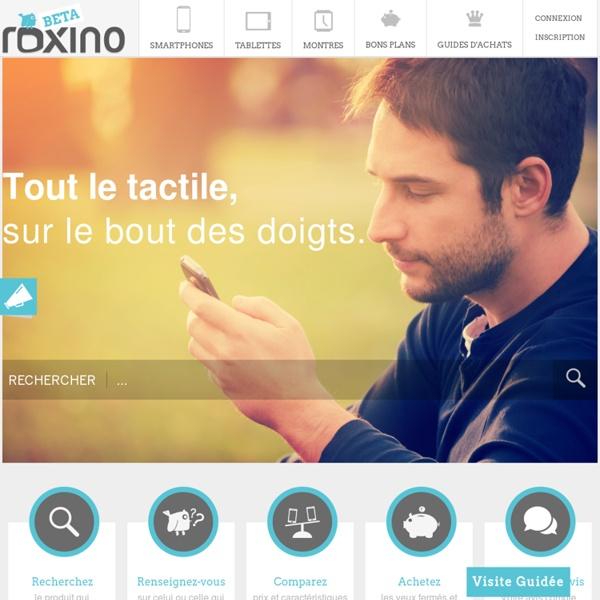 Accueil - Roxino
