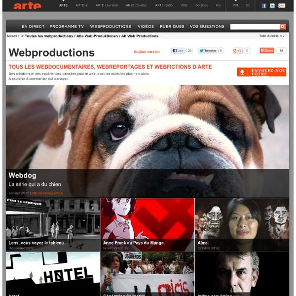 Toutes les webproductions