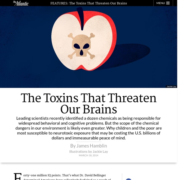 The Toxins That Threaten Our Brains