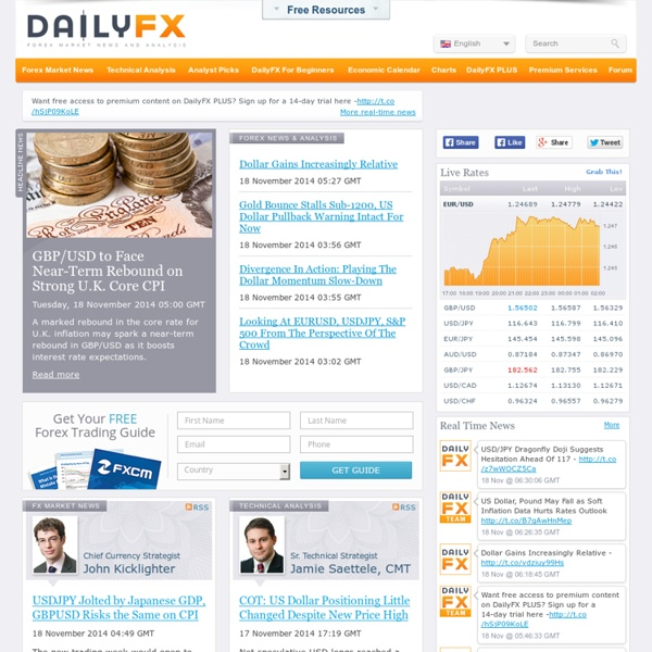 Currency trading news