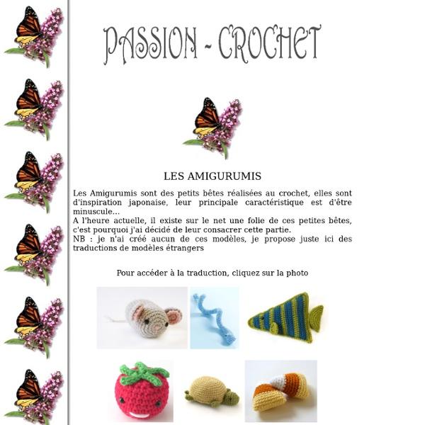 Traductions d'Amigurumis au Crochet