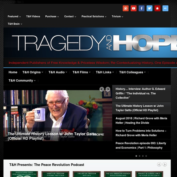 Tragedy and Hope Communications — T&H: Your Launchpad for Learning
