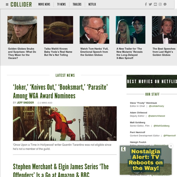 Collider: Movie News, Movie Reviews, Movie Trailers, TV News