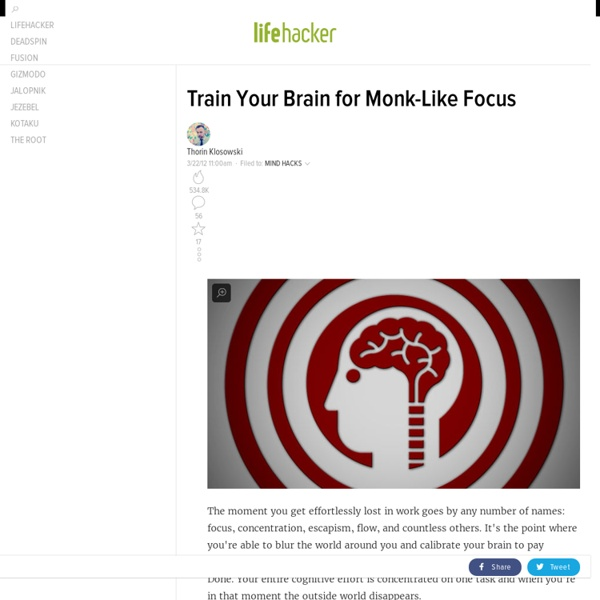 Train Your Brain for Monk-Like Focus
