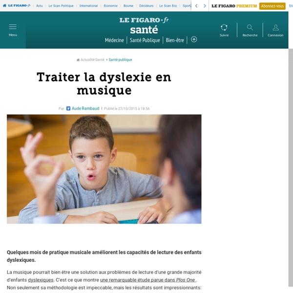 Traiter la dyslexie en musique