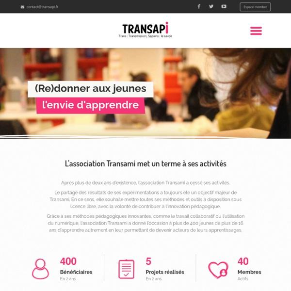 Transapi - Un projet d'apprentissage innovant