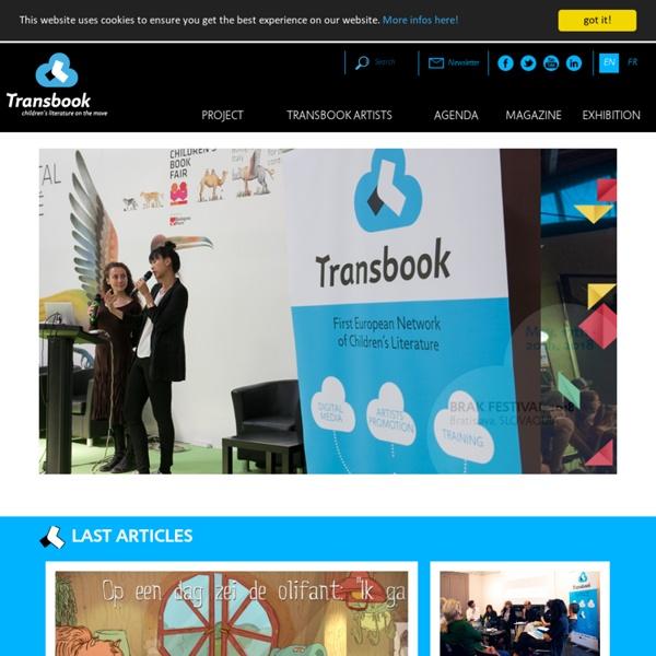 Projet européen litté jeunesse numérique: Transbook