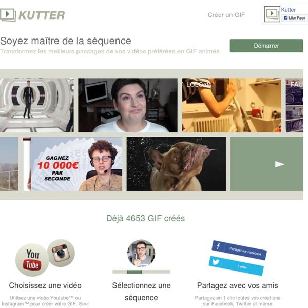 Transforme un extrait de vidéo Youtube en GIF animé