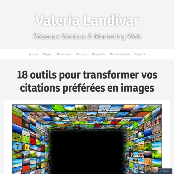 18 outils pour transformer vos citations préférées en images