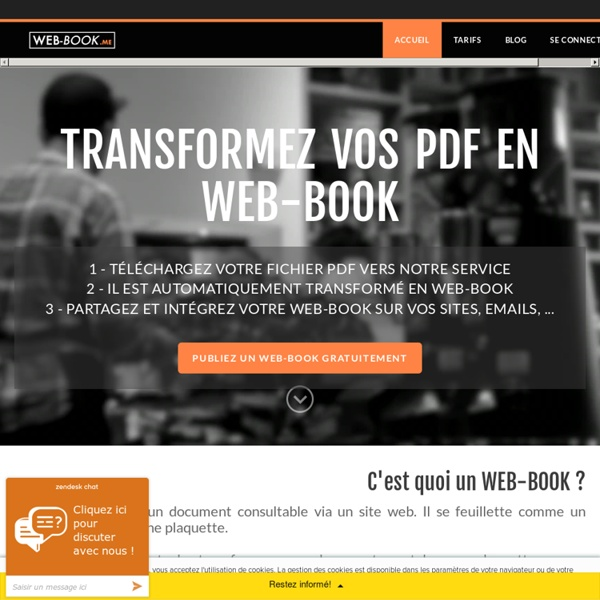 WEB-BOOK - WEB-BOOK, Transformez et publiez tous vos documents au format numérique