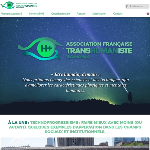 Association Française Transhumaniste - AFT Technoprog
