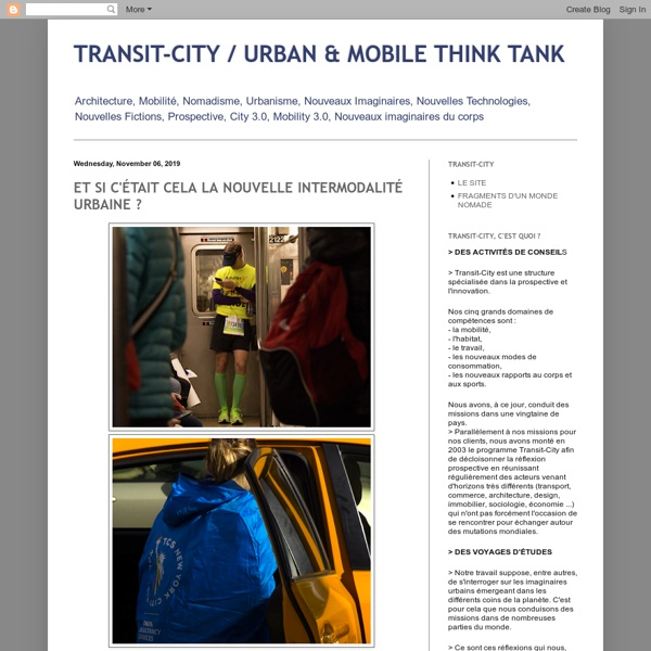 TRANSIT-CITY / URBAN & MOBILE THINK TANK