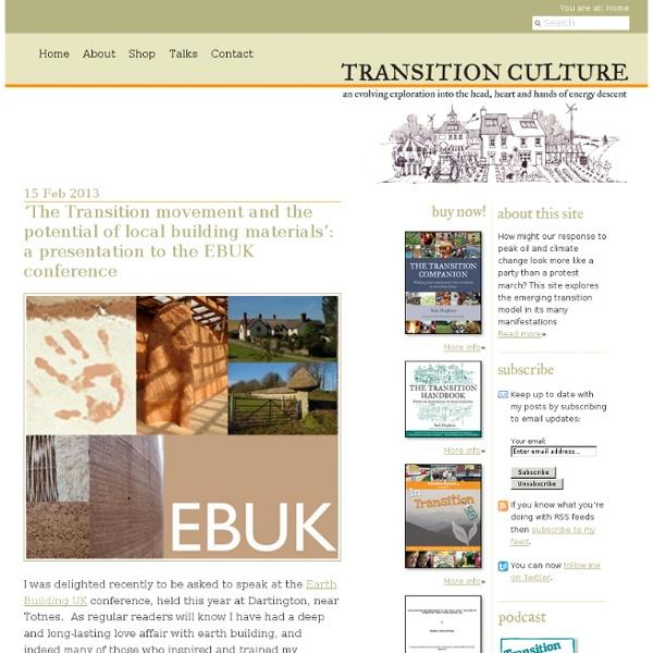Transition Culture