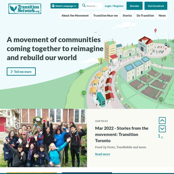 Homepage - Transition Network