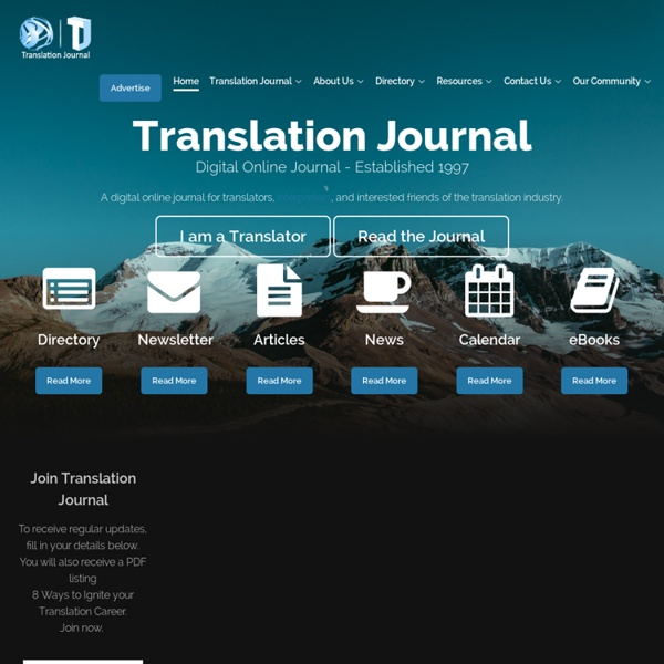 Translation Journal