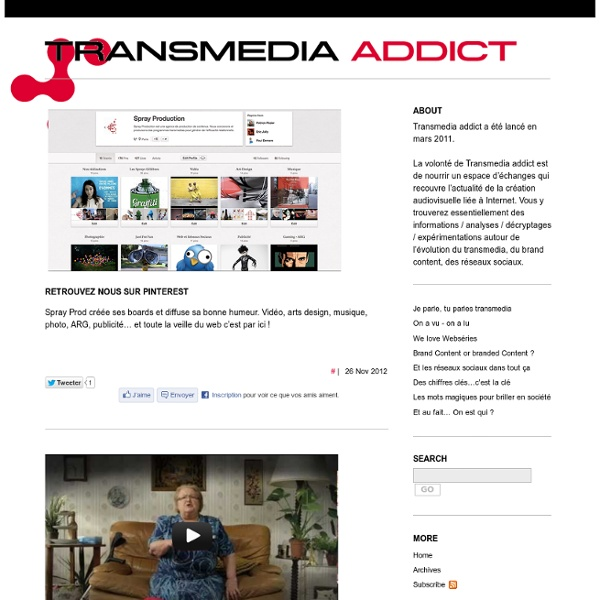 Transmedia addict