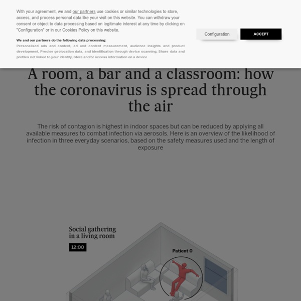 Aerosol transmission of Covid-19: A room, a bar and a classroom: how the coro...