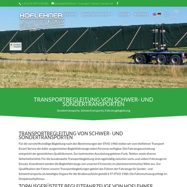 Hoflehner Transport Escort Service e. U.