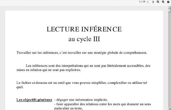 Travail de l'inférence.PDF