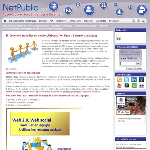 Comment travailler en mode collaboratif en ligne : 2 dossiers pratiques