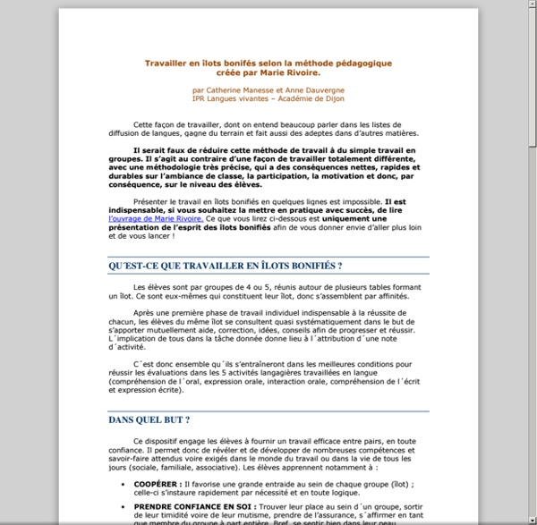 COMPTE-RENDUS_OUVRAGES/travailler-en-ilots-bonifies