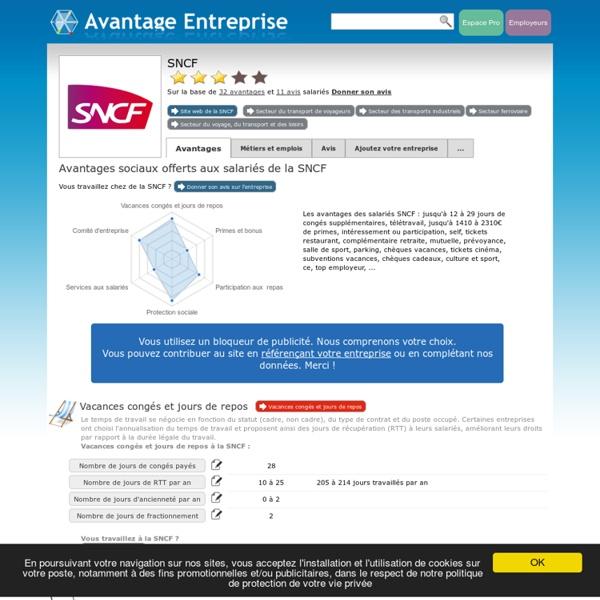 Travailler à la SNCF