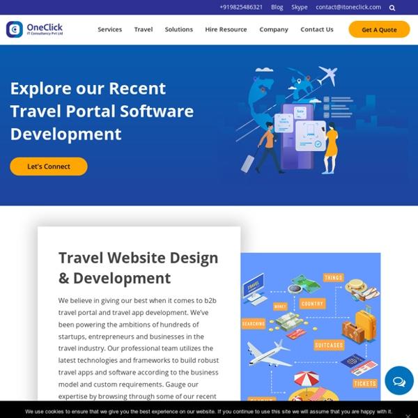 Travel solution provider company
