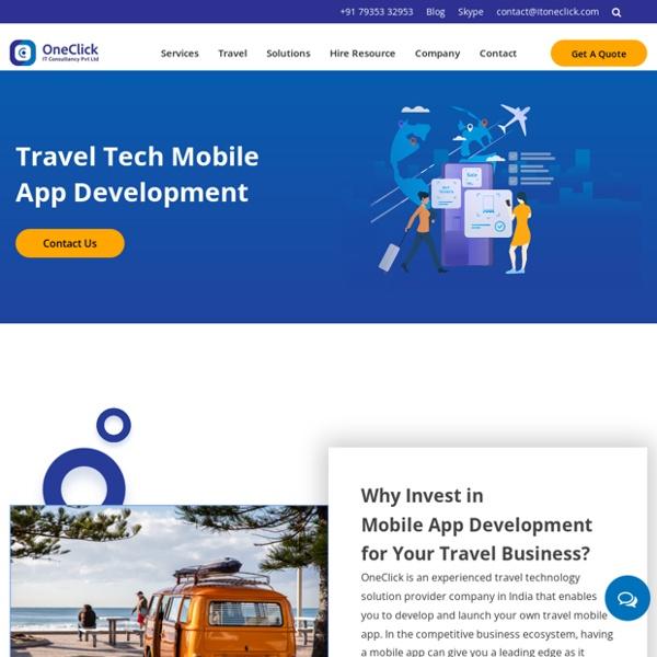 Travel Technology Mobile application Development