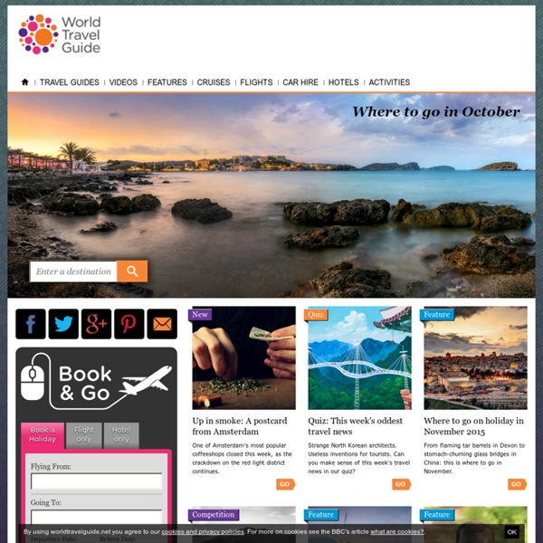Travel Guides - World Travel Guide