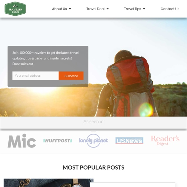 Traveller Colic – A Travel Blog
