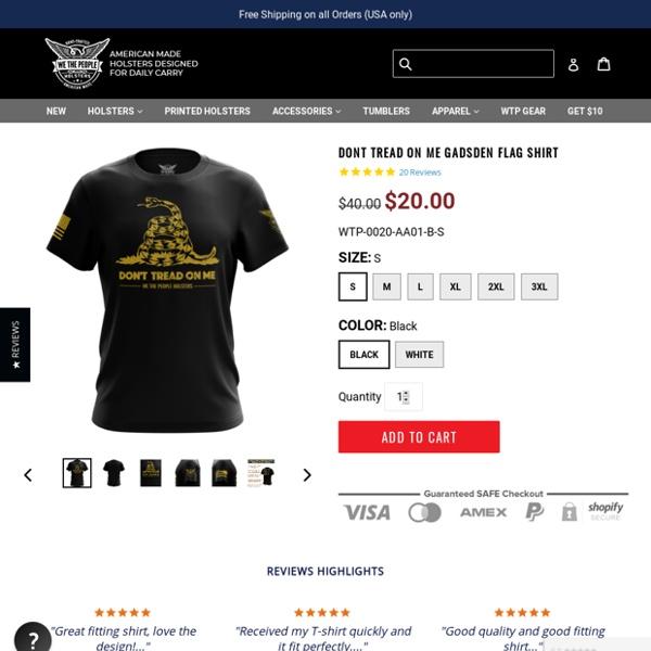 Don't Tread On Me Shirt - Gadsden Flag Short Sleeve Unisex T-Shirt