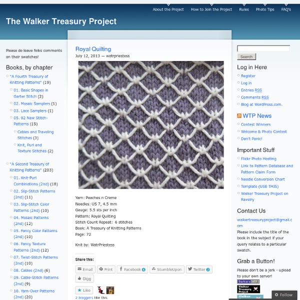 The Walker Treasury Project | Pearltrees