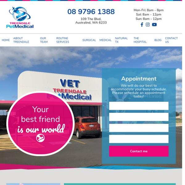 Treendale Pet Medical Veterinary Hospital Bunbury