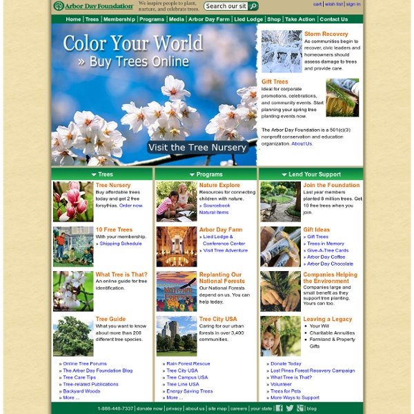Buy Trees and Learn About Trees - Visit our Online Nursery