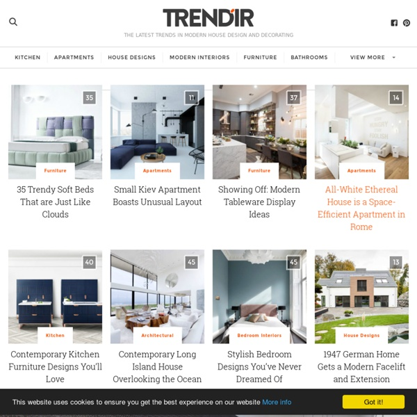 Trendir home decorating trends magazine pearltrees Trends magazine home design ideas
