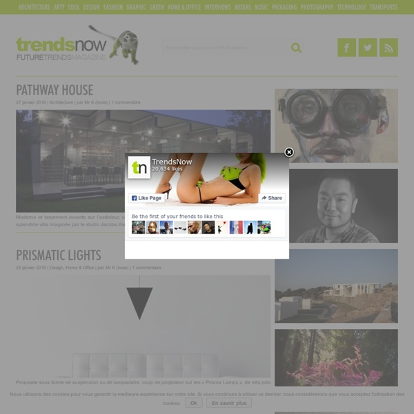 TrendsNow - Future Trends Magazine