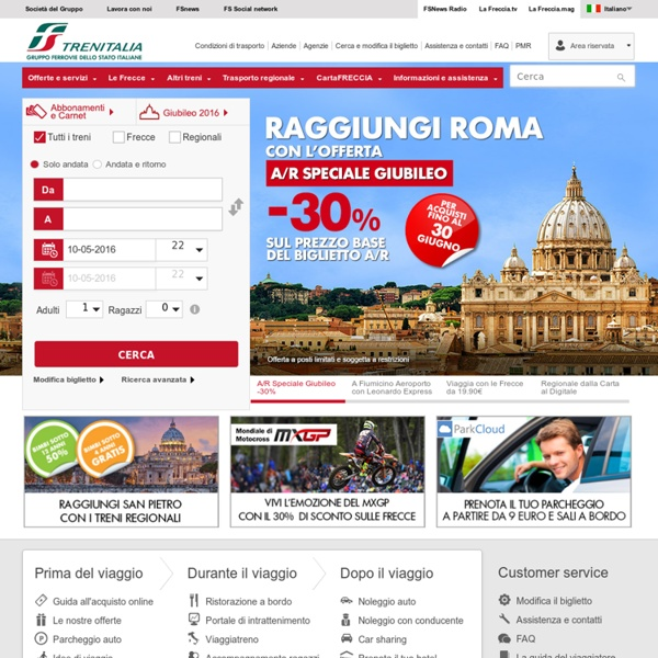 Trenitalia - HomePage