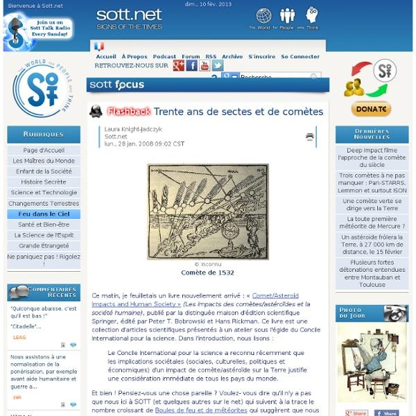 1616-1648 Trente ans de sectes et de comètes