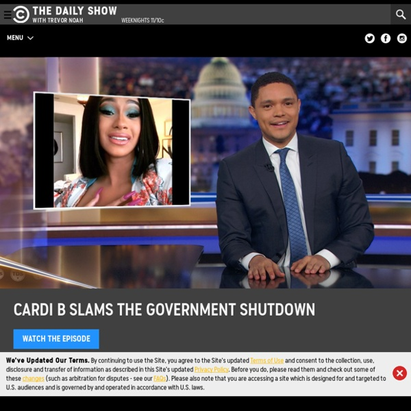 The Daily Show with Jon Stewart - Political Comedy
