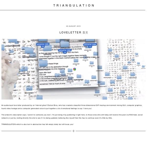 TRIANGULATION BLOG
